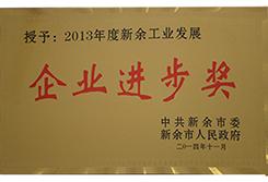 2013Annual enterprise progress award