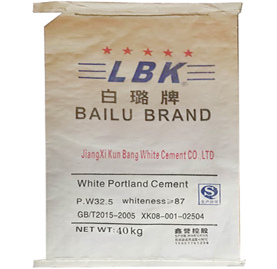 Jiangxi white cement